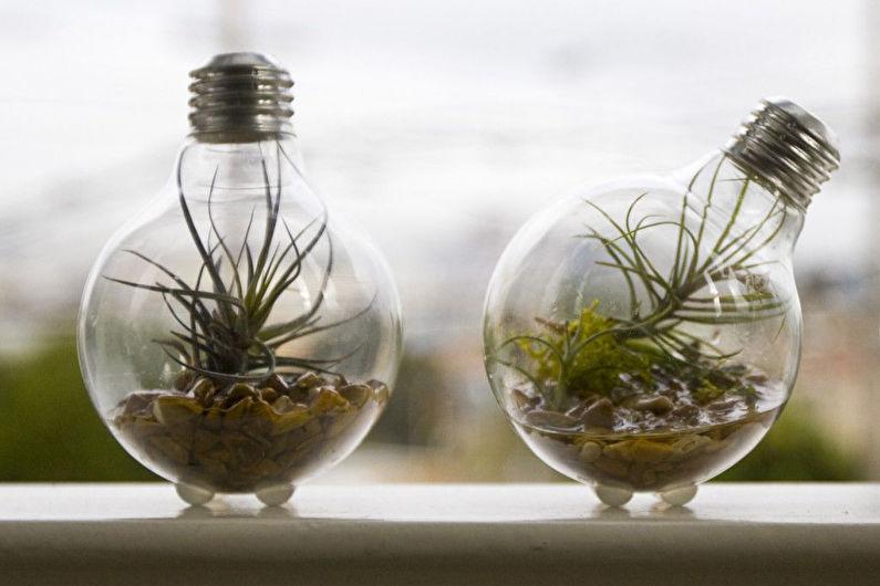 Décoration de chambre DIY - Jardin en bouteille ou florarium