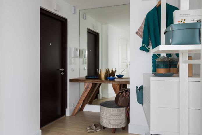 aménagement d'un petit couloir