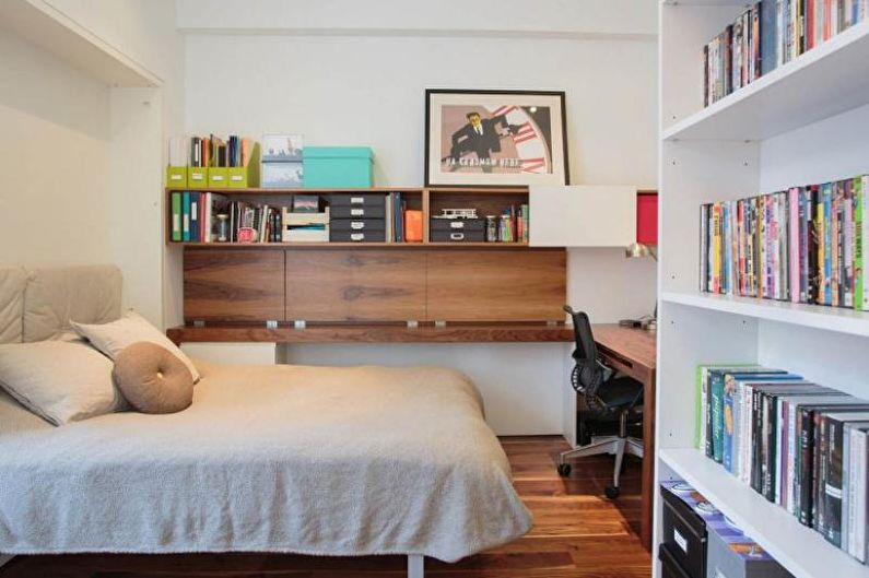 Chambre - Conception d'un appartement de deux pièces