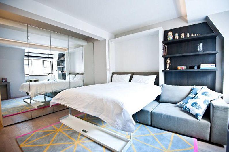 Salon - Conception d'un appartement de deux pièces