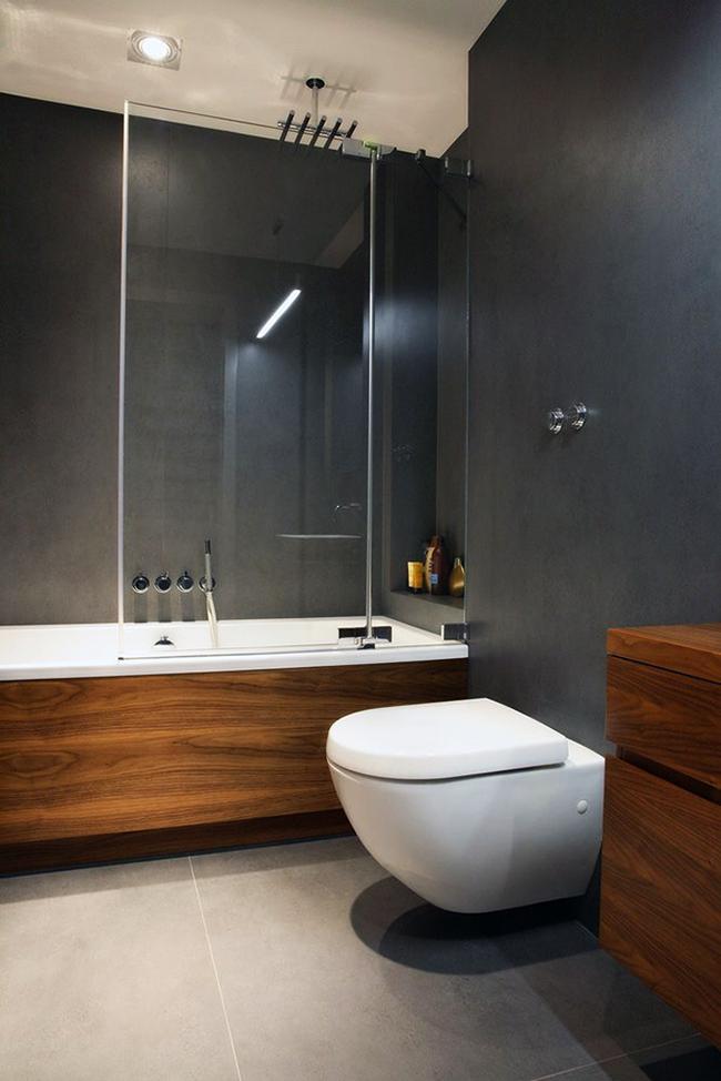 Une salle de bain avec douche est une excellente option pour une petite salle de bain