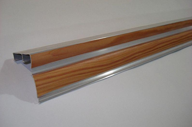 Tringle à rideaux en aluminium