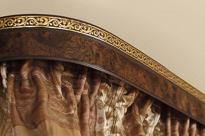 Formes de tringle à rideau - Tringle à rideau baguette