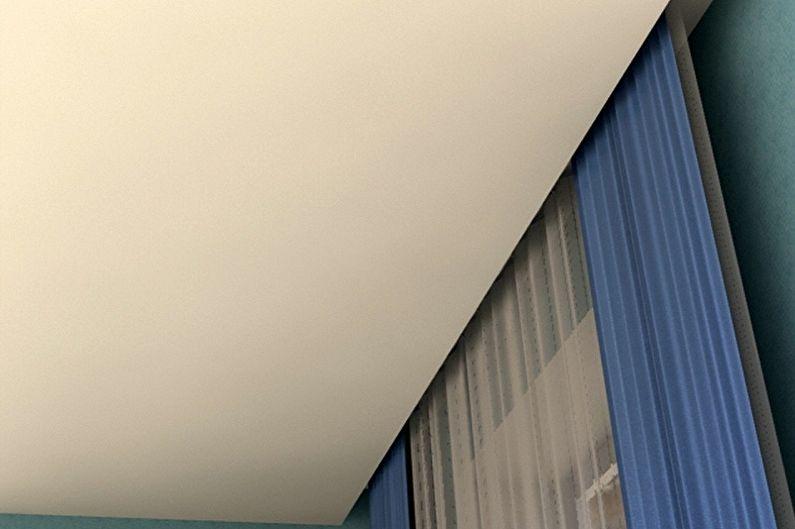Formes de tringle à rideau - Tringle à rideau cachée