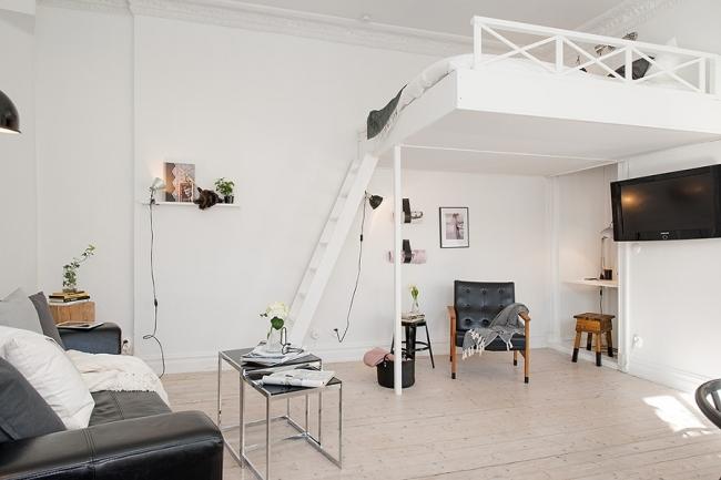 Avec un zonage approprié dans une pièce compacte, il y a une place pour tout ce dont vous avez besoin