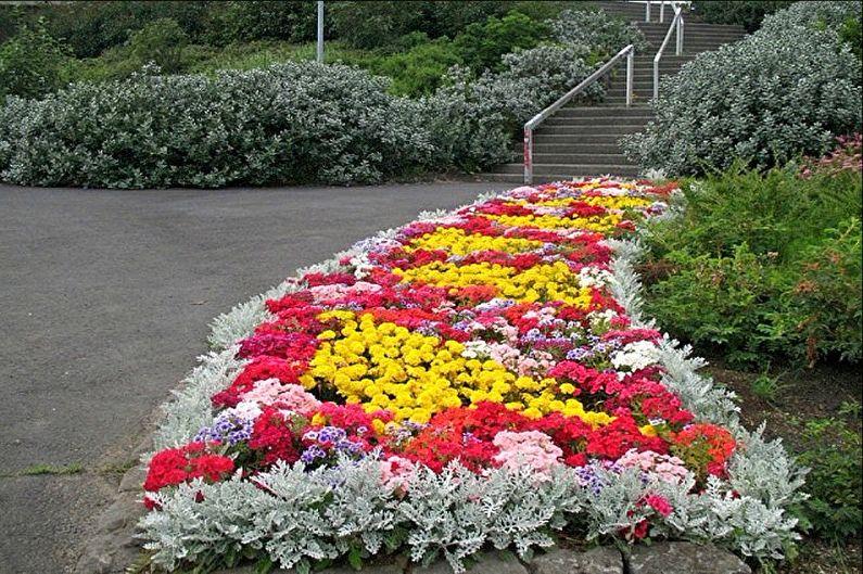Rabatka - Parterre de fleurs à la campagne, idées d'aménagement paysager
