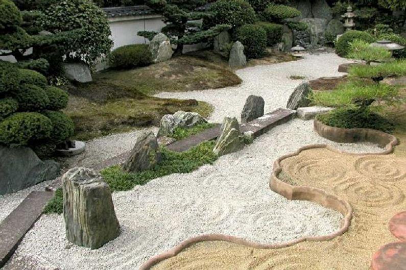Jardin de pierre - Parterre de fleurs à la campagne, idées d'aménagement paysager