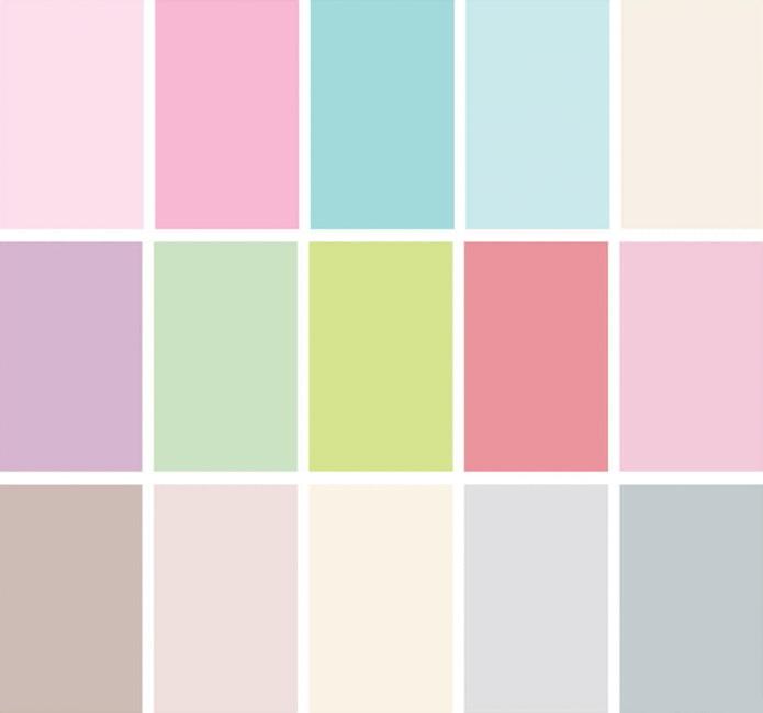 tons pastels