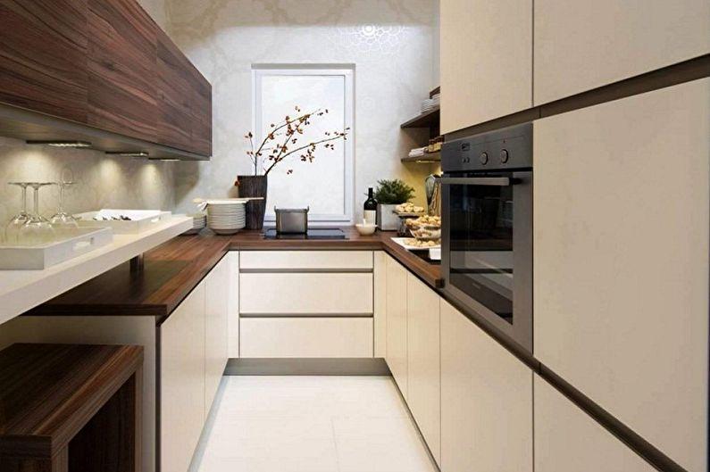 Conception de cuisine minimaliste - Caractéristiques