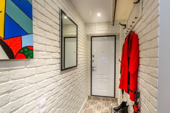 intérieur de couloir de style loft