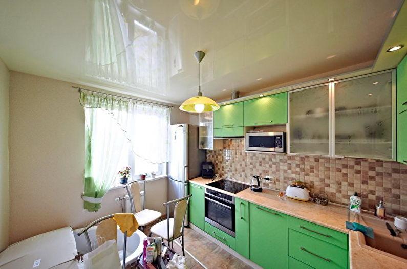 Plafonds tendus dans la cuisine - Avantages et inconvénients