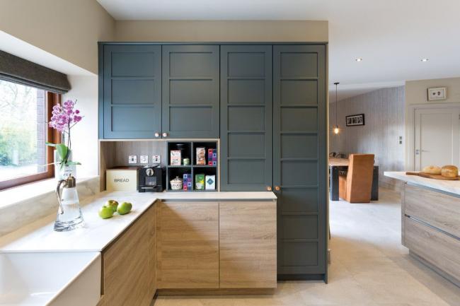 Le placement en coin vous permet de placer le maximum de meubles utiles sur une surface minimale