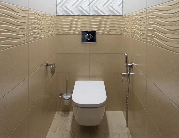option pour finir une salle de bain moderne