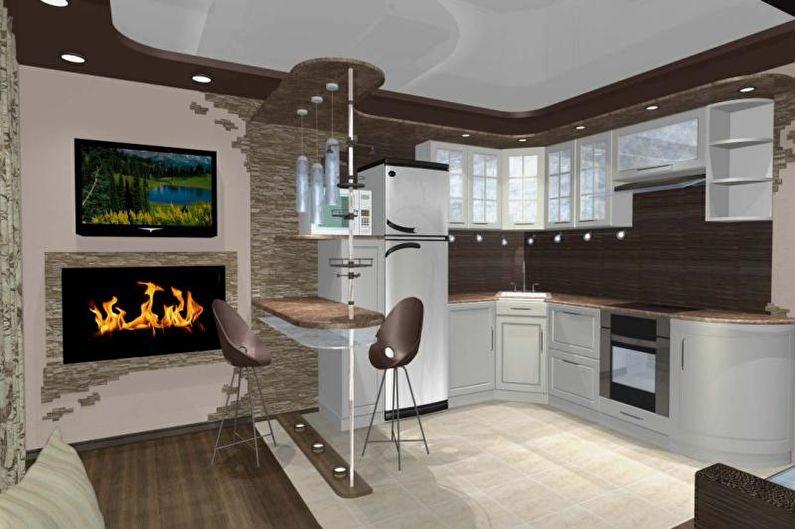 Conception de studio de cuisine - Éclairage