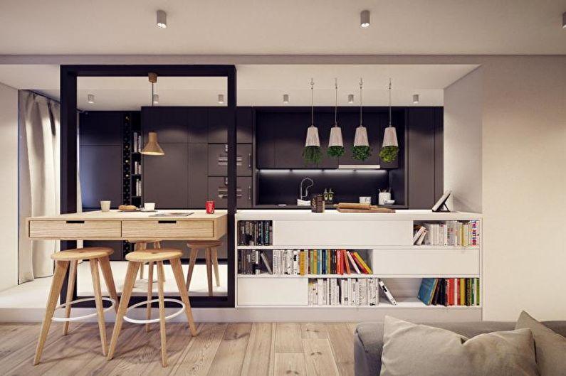 Conception de studio de cuisine - Avantages et inconvénients