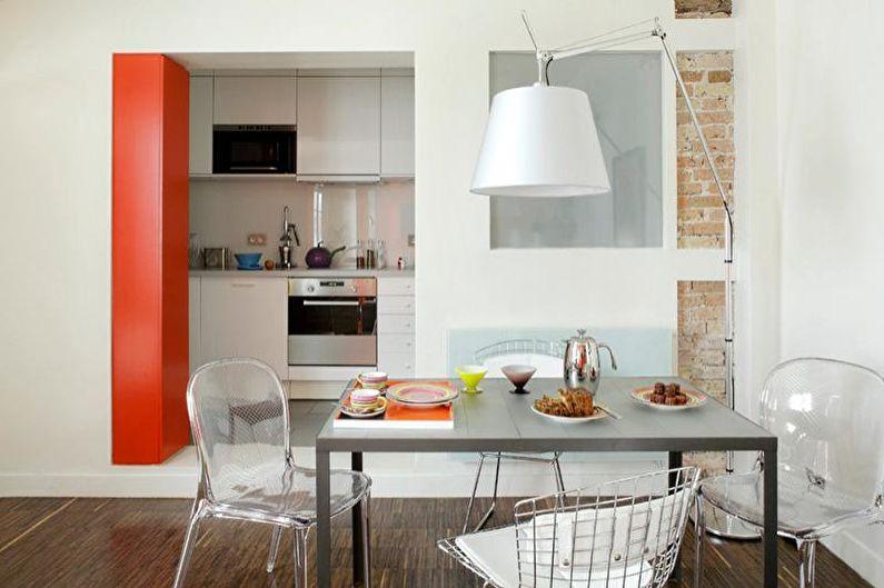 Conception de studio de cuisine - Cloisons