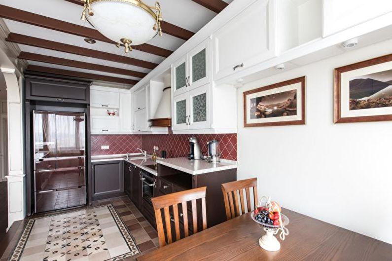 Studio de cuisine classique - Design d'intérieur