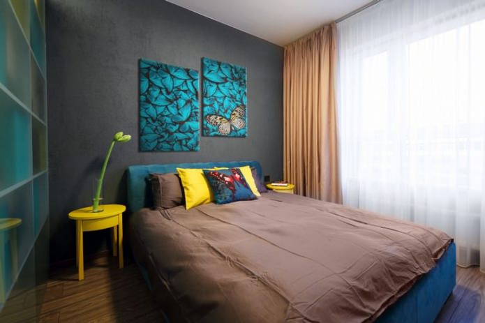 image modulaire moderne à l'intérieur de la chambre