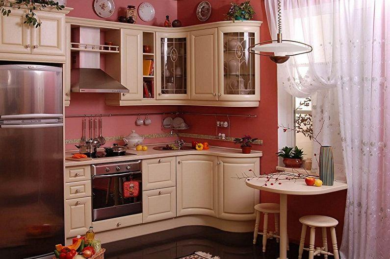 Petite cuisine d'angle - Caractéristiques