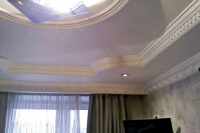 Types de plinthes pour plafonds tendus - Filets élastiques