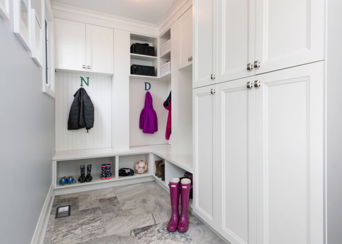 armoire en L