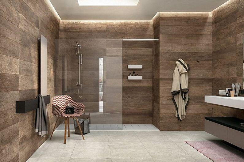 Types de carreaux de sol de salle de bain - Carreaux de clinker