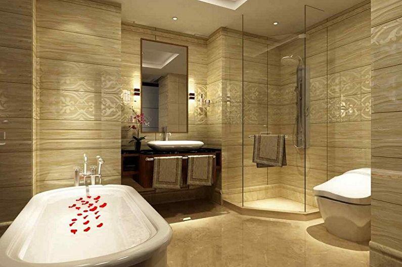 Carrelage de salle de bain - Avantages et inconvénients