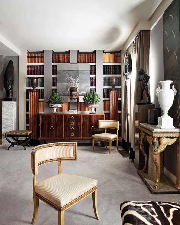 Lorsque vous décorez une pièce dans un style néoclassique, préparez-vous au fait que cela vous coûtera une somme ronde