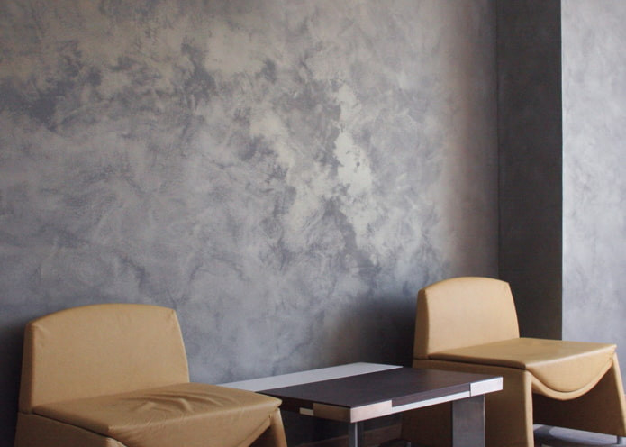 murs volumétriques sombres