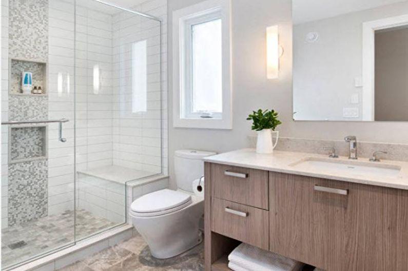 Conception de salle de bain combinée - Conseils pour choisir la plomberie
