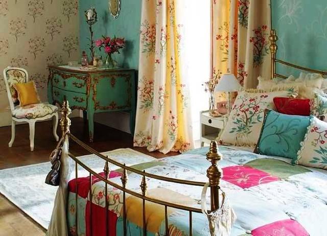 Le patchwork est le moyen idéal pour compléter l'intérieur provençal