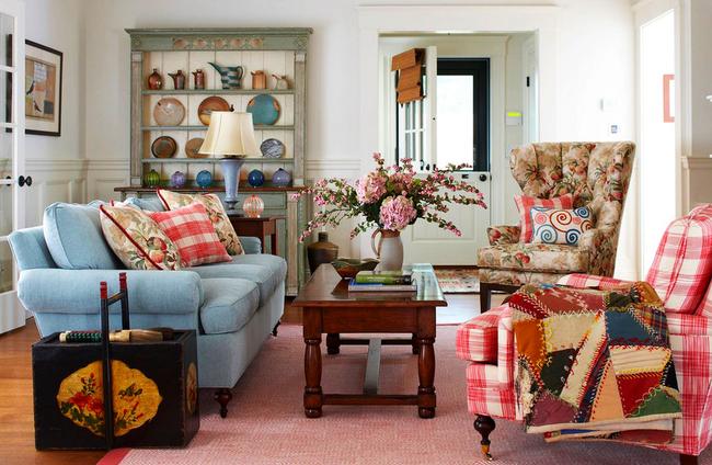 Le patchwork est un élément de décoration qui apporte chaleur et confort à un intérieur traditionnel strict