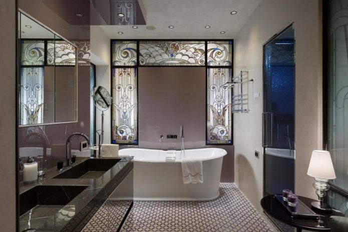 Salle de bain exquise