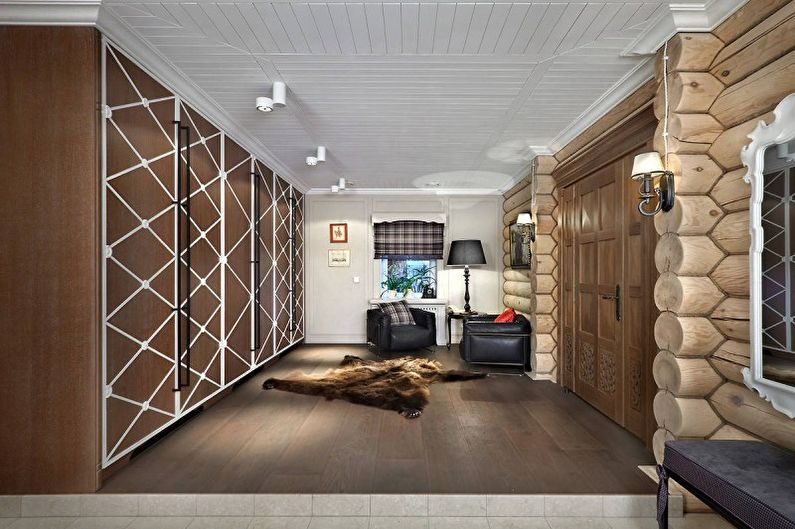 Style campagnard à l'intérieur - Décoration de plafond