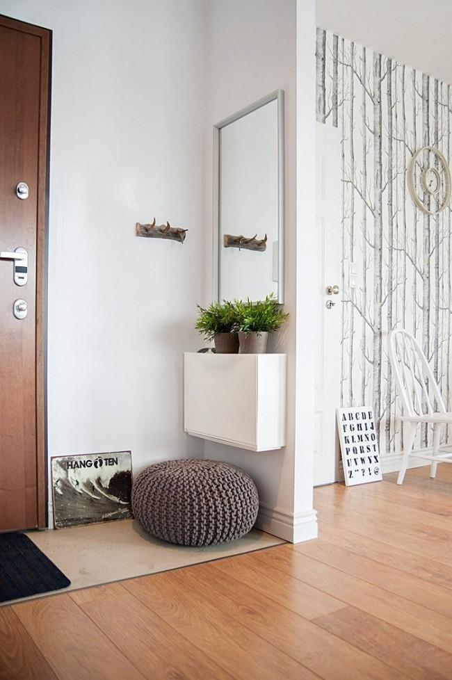 Option pour un petit couloir