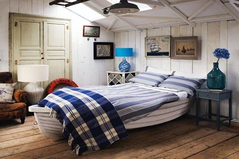 Chambre Teen Boy de style méditerranéen - Design d'intérieur