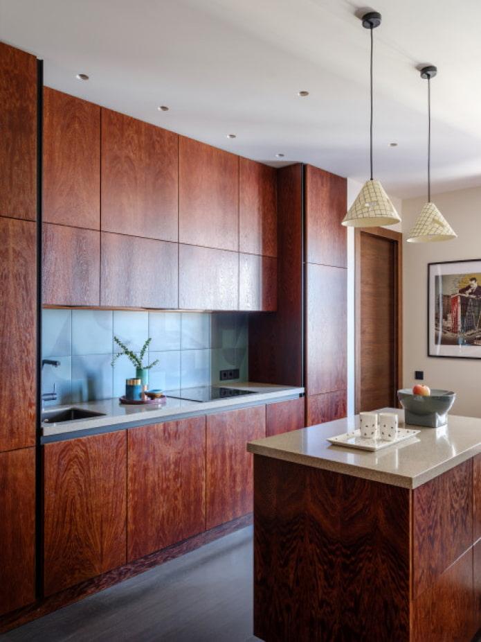 façades de cuisine en bois