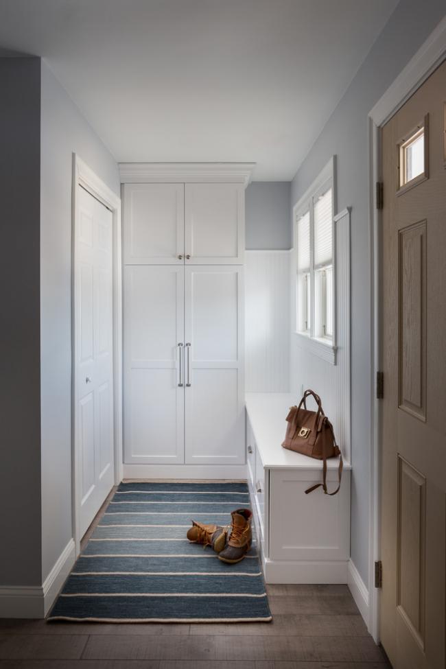 Couloir compact au design minimaliste