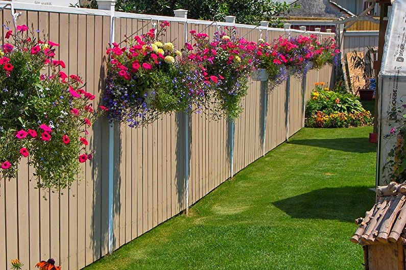 Jardinage vertical en aménagement paysager - Types