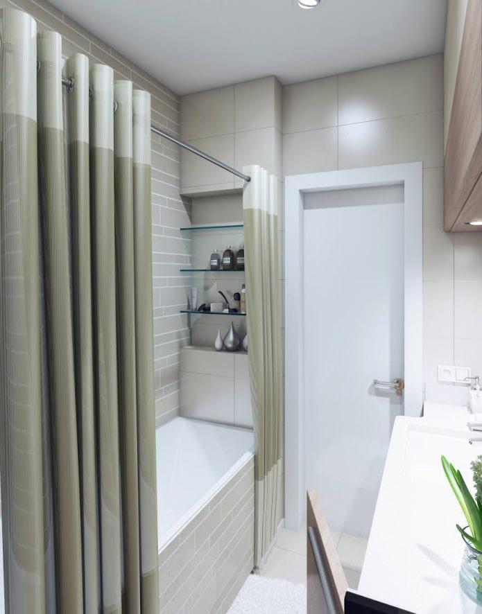 conception de salle de bain 3,2 m²  m.