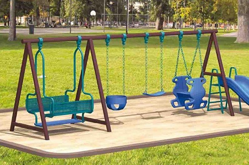 Types de balançoire pour chalets d'été - Balançoire pour activités de plein air