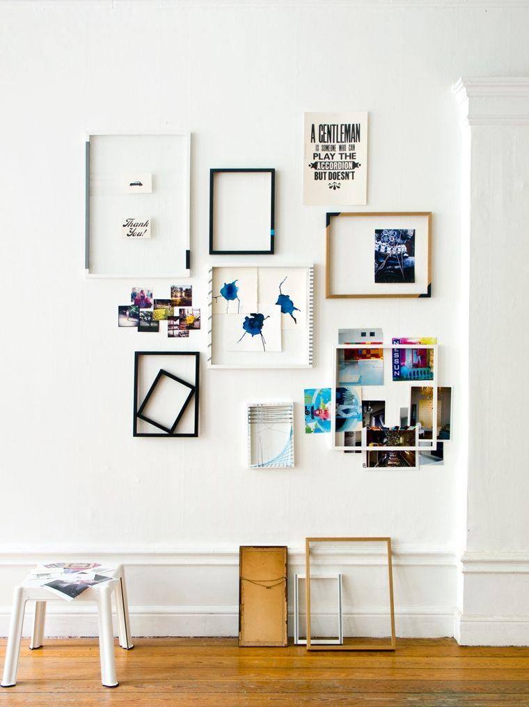 Lorsque vous décorez un mur, pourquoi ne pas sortir des sentiers battus ?