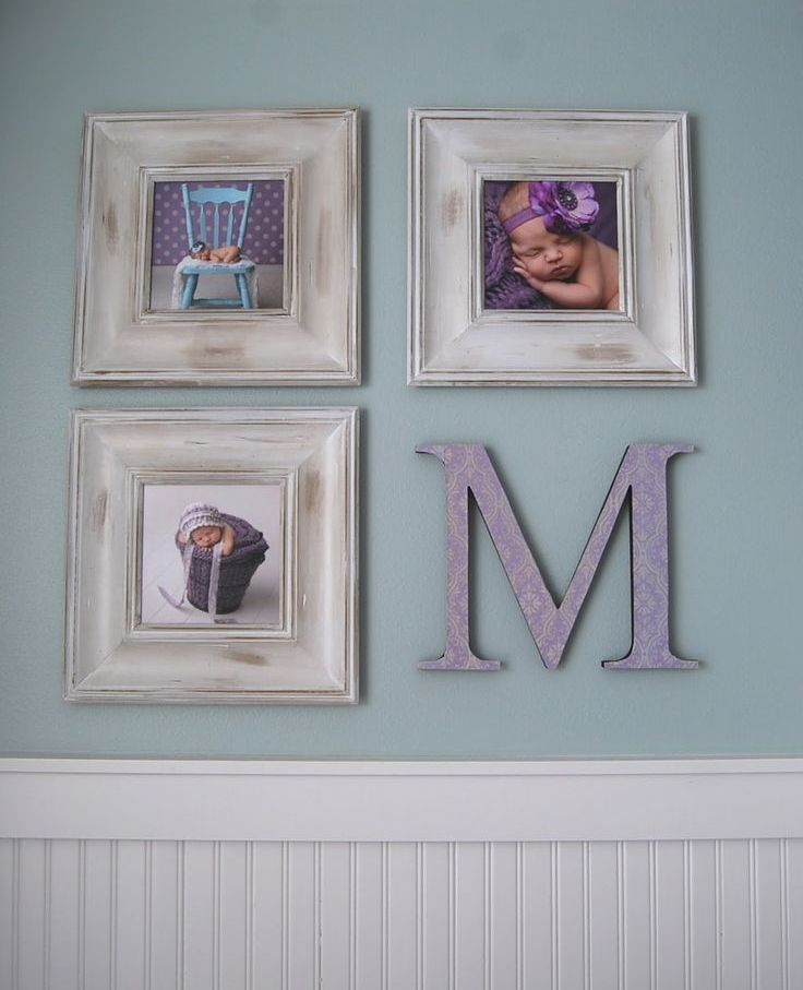 Au lieu de la quatrième photo, la première lettre du nom de votre enfant