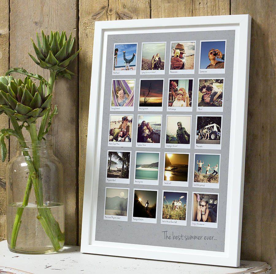 Les photos liées au même événement, comme des vacances ou un mariage, peuvent être placées dans un cadre commun