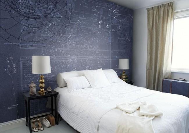 La couleur bleu neutre est propice à un séjour confortable