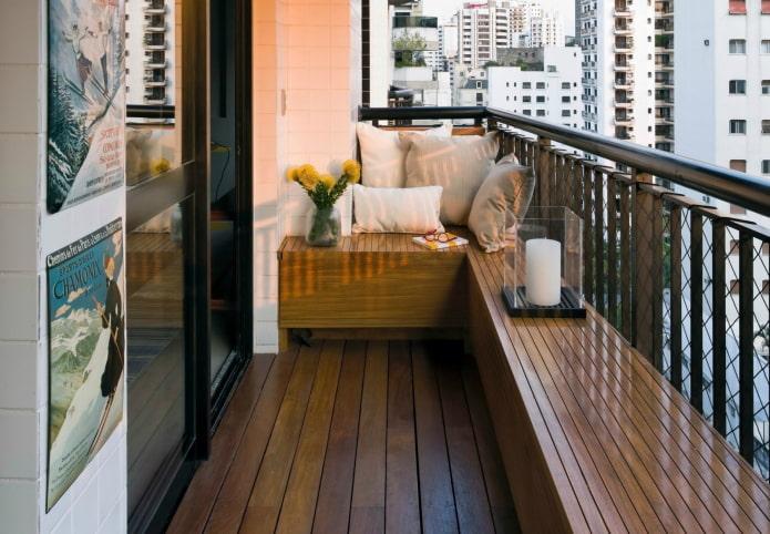 conception de balcon ouvert
