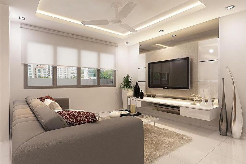 Mur avec TV - Comment choisir et installer