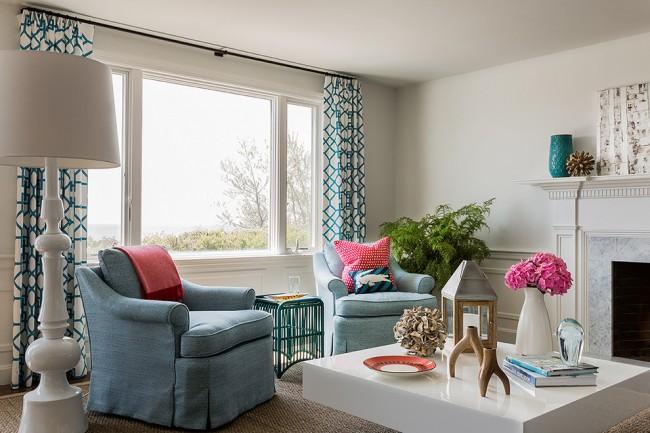 Les rideaux vous aideront rapidement et à moindre coût à rafraîchir l'intérieur de votre salon, vous serez surpris de voir à quel point ils peuvent transformer la pièce.