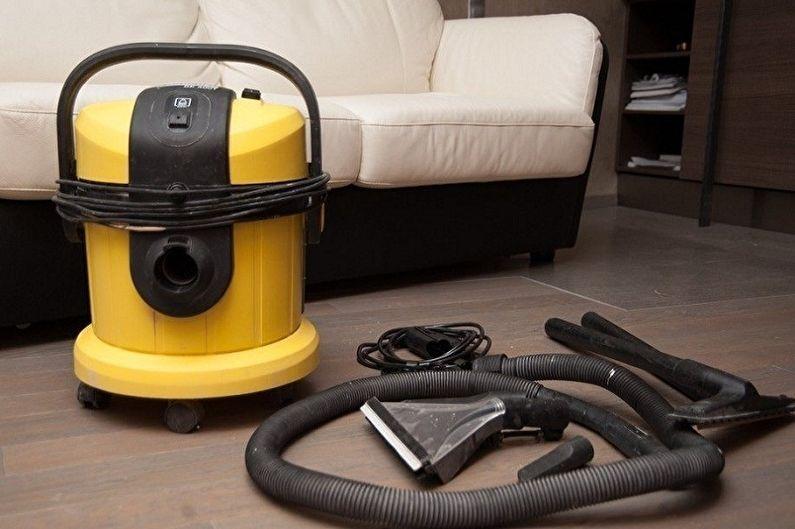 Comment laver un plafond tendu sans laisser de traces à la maison - De quels accessoires avez-vous besoin