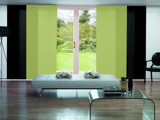 Les rideaux à panneaux sont riches en une variété de matériaux et de couleurs